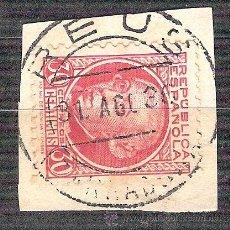 Sellos: EDIFIL 686. MATASELLO FECHADOR. REUS. TARRAGONA. EN FRAGMENTO. Lote 38010872