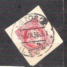 Sellos: EDIFIL 686. MATASELLO FECHADOR. ASTORGA. LEON. EN FRAGMENTO. Lote 38010943