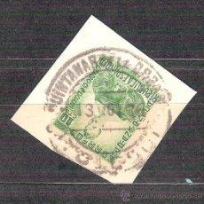 Sellos: EDIFIL 682. MATASELLO FECHADOR. QUINTANAR DE LA ORDEN. TOLEDO. EN FRAGMENTO.. Lote 201166660