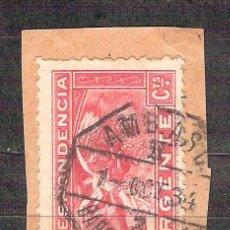 Sellos: EDIFIL 679. MATASELLO AMBULANTE. BARCELONA EXPRESO. EN FRAGMENTO.. Lote 38011775