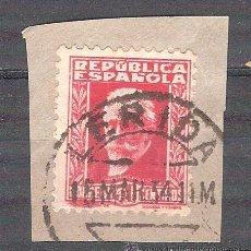 Sellos: EDIFIL 669. MATASELLO FECHADOR. LÉRIDA. EN FRAGMENTO.. Lote 38025915
