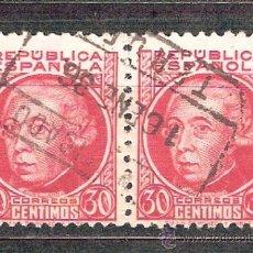 Sellos: EDIFIL 687. MATASELLO CERTIFICADO. TERUEL.. Lote 38026029