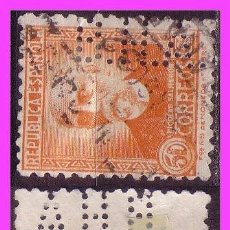 Sellos: 1931 PERSONAJES, EDIFIL Nº 661 (O) PERFORACIÓN BHA. Lote 38395140