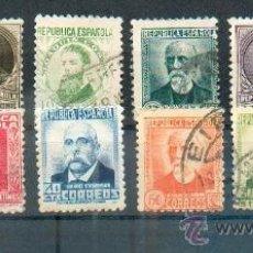 Sellos: PERSONAJES.- SERIE DE 1932 662/672.- VALOR CATÁLOGO 2,50. Lote 148037069