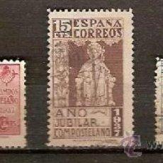 Sellos: SELLO ESPAÑA EDIFIL 833 A 835 AÑO 1937 AÑO JUBILAR COMPOSTELANO USADO NUEVO . Lote 38814071