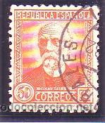 661- PERSONAJES 1931-1932. 50 C. USADO LUJO. CAT.- 20,50 €. (Sellos - España - II República de 1.931 a 1.939 - Usados)