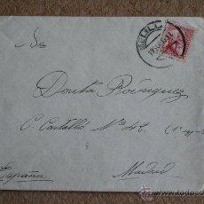 Sellos: SOBRE CIRCULADO CON SELLO DE LA II REPÚBLICA ESPAÑOLA. 30 CÉNTIMOS. MELILLA. 1935.. Lote 39399595