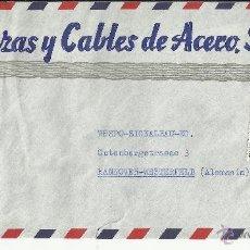 Sellos: BARCELONA CC SELLO ESCUDO ALICANTE MAT HEXAGONAL CORREO AEREO. Lote 39990710