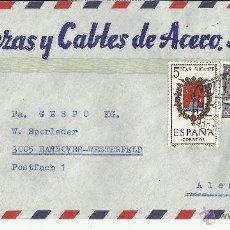 Sellos - BARCELONA CC MAT HEXAGONAL CORREO AREO ESCUDO ALICANTE AVION PLUS ULTRA - 39991718