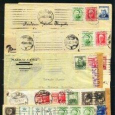 Sellos: LOTE DE HISTORIA POSTAL PERIODO II REPUBLICA. Lote 40349435