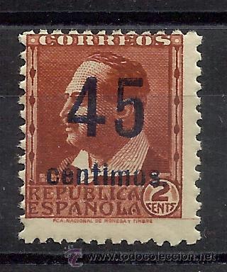 BLASCO IBAÑEZ 1938 EDIFIL NE28 NUEVO** VALOR 2013 CATALOGO 78.-- EUROS (Sellos - España - II República de 1.931 a 1.939 - Nuevos)