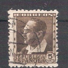 Sellos: EDIFIL 681. PERSONAJES. 5 CTS. BLASCO IBAÑEZ. 1933/35.. Lote 41265344