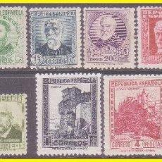 Sellos: 1932 PERSONAJES, EDIFIL Nº 662 A 675 * . Lote 41993690