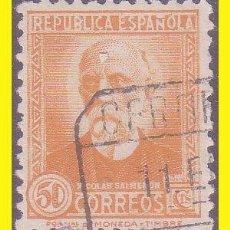 Sellos: 1931 PERSONAJES, EDIFIL Nº 661 (O). Lote 41994079