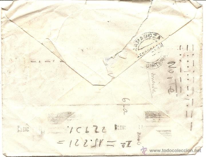 Sellos: UTIEL (VALENCIA) - LOTE 3 CARTAS CIRCULADAS R. TALÓN LÓPEZ TEJIDOS Y PAQUETERÍA AÑOS 1934-35 - Foto 3 - 42375957