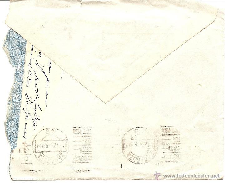 Sellos: UTIEL (VALENCIA) - LOTE 3 CARTAS CIRCULADAS R. TALÓN LÓPEZ TEJIDOS Y PAQUETERÍA AÑOS 1934-35 - Foto 5 - 42375957