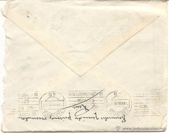 Sellos: UTIEL (VALENCIA) - LOTE 3 CARTAS CIRCULADAS R. TALÓN LÓPEZ TEJIDOS Y PAQUETERÍA AÑOS 1934-35 - Foto 7 - 42375957