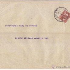 Sellos: SOBRE IMPRESOS MADRID. 2 CTS. BLASCO IBÁÑEZ. 1933. A CANGAS DE ONÍS (ASTURIAS). Lote 43489183