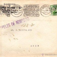 Sellos: . CARTA PEDRO HOMS Y Cº BARCELONA . Lote 43656021