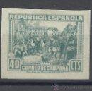 Sellos: CORREO CAMPAÑA 1939 EDIL NE 50 NUEVO(*) VALOR 2014 CATALOGO 275.-- EUROS. Lote 163962368