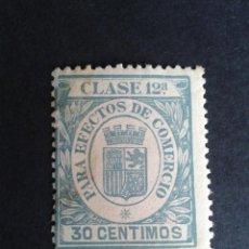 Sellos: SELLO / TIMBRE FISCAL. PARA EFECTOS DE COMERCIO. CLASE 12. 30 CTS.. Lote 45384552