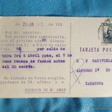 Sellos: TARJETA POSTAL CIRCULADA BUEN ESTADO. Lote 47424137
