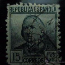 Sellos: REPUBLICA ESPAÑOLA 15 CTS.. Lote 48336278