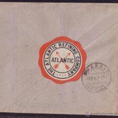 Sellos: ESPAÑA. (CAT. 659 + VIÑETA). 1934. SOBRE DE VENTANA DE BILBAO. 30 CTS. + VIÑETA AL DORSO. RR.. Lote 50597970