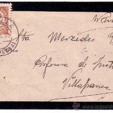 Timbres: F11-41-SOBRE LUTO TAFALLA - VILLAFRANCA (NAVARRA) 1935. Lote 50766235