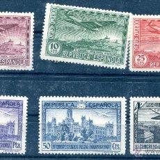 Sellos: EDIFIL 614/619.SERIE COMPLETA DEL III CONGRESO POSTAL PANAMERICANO, AVIÓN. NUEVOS SIN GOMA.. Lote 50830251