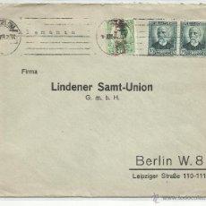 Sellos: CIRCULADA 1932 DE BERLIN A BARCELONA VER FOTO. Lote 50930580
