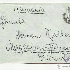 Sellos: CIRCULADA 1936 DE MADRID A MAGDEBURGO. Lote 50948398