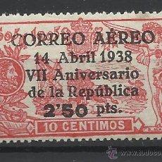 Sellos: ANIVERSARIO REPUBLICA 1938 EDIFIL 756 NUEVO** VALOR 2015 CATALOGO 165.-- EUROS . Lote 51284979