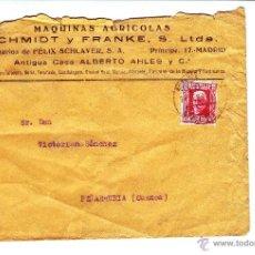 Sellos: MAQUINAS AGRICOLAS SCHMIDT Y FRANKE - MADRID - AÑO 1932. Lote 51469717