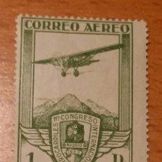 Sellos: 1930. 13 DE MAYO. XI CONGRESO INTERNACIONAL DE FERROCARRILES (AÉREO). EDIFIL 487. NUEVO SIN CHARNELA. Lote 51701864