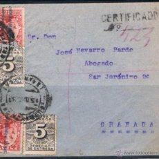 Sellos: 1931.- GUADAHORTUNA A GRANADA. Lote 52579096
