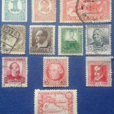 Sellos: 11 SELLOS, NUEVOS, ESPAÑA, AÑOS 1933-35. Lote 53827753