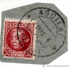 Sellos: S/FRAGMENTO. EDIFIL 687. MATº AGUILAR (CORDOBA). . Lote 53957492
