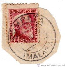 Sellos: S/FRAGMENTO EDIFIL 686 . MATº COMPETA (MÁLAGA).. Lote 54017892