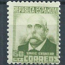 Sellos: R61/ ESPAÑA 1931/32, PERSONAJES Y MONUMENTOS, NUEVO**. Lote 170357414