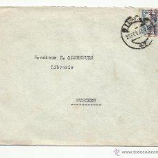 Sellos: CIRCULADA 1932 DE BILBAO A MUNICH ALEMANIA VER FOTO. Lote 54161723