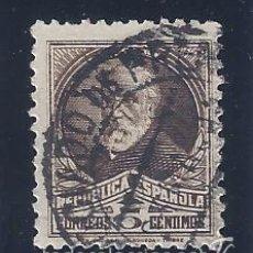 Sellos: EDIFIL 663 PERSONAJES Y MONUMENTOS 1932. MATASELLOS NEGOCIADO DE PRENSA.. Lote 55107670