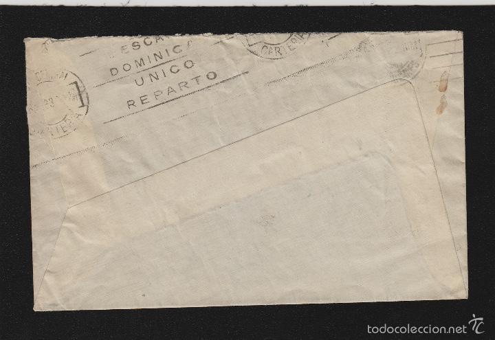 Sellos: CARTA VILLANUEVA Y GERTRU ( BARCELONA ) 1932 / MADRID franqueo ALFONSO XIII REPÚBLICA. CON LLEGADA - Foto 2 - 55774417