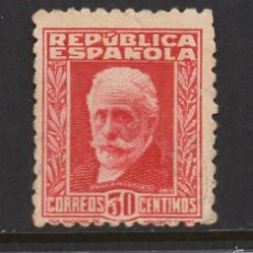 Sellos: ESPAÑA 659* - AÑO 1931 - PERSONAJES - PABLO IGLESIAS. Lote 57002127