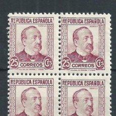 Sellos: R7/ ESPAÑA EN NUEVO** 1933-1935, EDF. 685, PERSONAJES. Lote 57691216