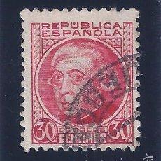 Sellos: EDIFIL 687 PERSONAJES 1933-1935. MATASELLOS HUESCA (VARIEDAD...SIN PIE DE IMPRENTA). Lote 58091638