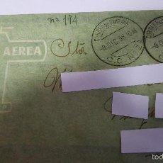Sellos: ANTIGUO SOBRE CORREO CAMPAÑA -C.C-Nº-2- 40 - DEL 8 DICIEMBRE DE 1938 - POR VIA AEREA -. Lote 59069495