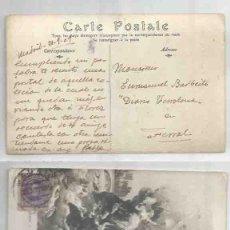 Sellos: TARJETA POSTAL PARIS MADRID ALFONSO XIII. EDI. 486 15CTS. Lote 59439270
