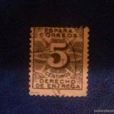 Sellos: 1931,,DERECHO DE ENTREGA,,USADO,,EDIFIL 592. Lote 60117043