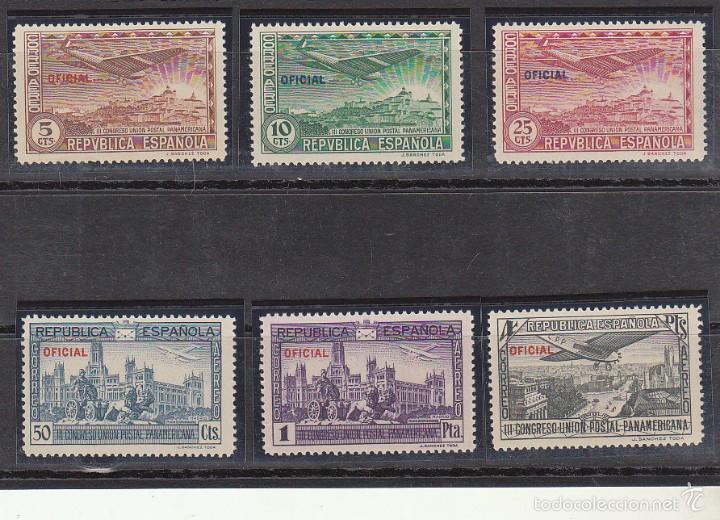XX 830/5 A III CONGRESO U.P. PANAMERICANA 1931 (Sellos - España - II República de 1.931 a 1.939 - Nuevos)